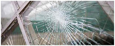 South Hackney Smashed Glass